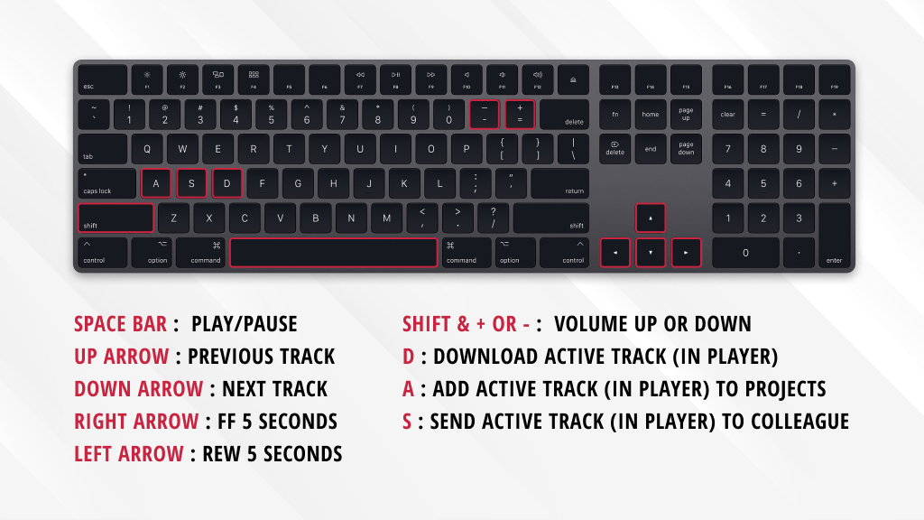 APM Search Keyboard Shortcuts Guide