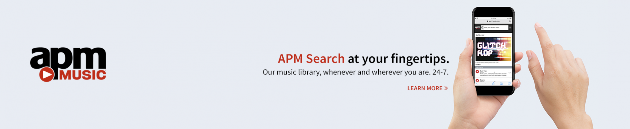 APM Search - available on mobile