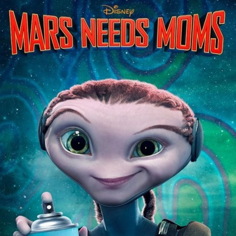 Trailers for new Mars Needs Moms feature Epic Score