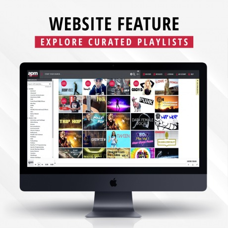 Explore Curated Playlists