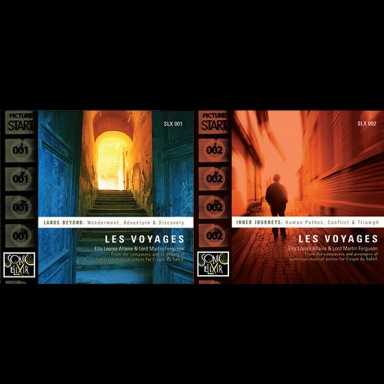 Two Cirque du Soleil composers encompass an authentic mix of world beats and adventurous tones in Les Voyages: SLX 001 and 002