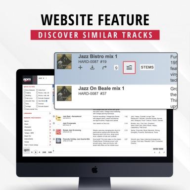 Website Feature - Similar Tracks