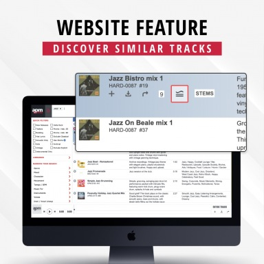 Website Feature - Similar Tracks